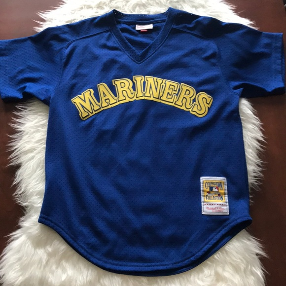 buy popular 66f24 dbce5 Seattle Mariners Ken Griffey Jr AUTH Jersey